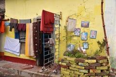 Область трущобы Kolkata стоковые изображения