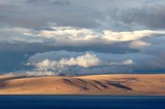 облегченная земля озера Стоковое Изображение RF
