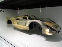 Облегченное тело гоночного автомобиля Порше 908 24 часа Ле-Ман Музей Порше Стоковое фото RF