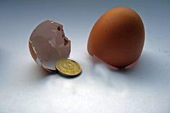 облечение финансов принципиальной схемы Стоковая Фотография