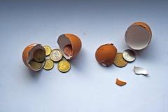 облечение финансов принципиальной схемы Стоковое Изображение RF