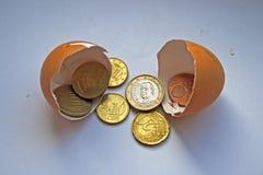 облечение финансов принципиальной схемы Стоковые Фото