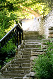 облицеванная лестница Стоковое Фото