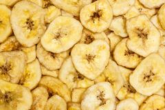 Обломоки банана для предпосылки Стоковая Фотография RF