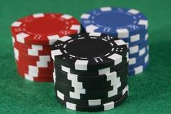 обломоки играя в азартные игры Стоковое Изображение RF