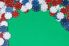 обломоки играя в азартные игры стоковое фото rf