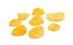обломоки изолировали картошку стоковое фото rf