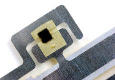 Обломоки и бирки RFID Стоковые Изображения RF