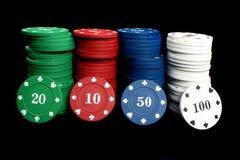 обломоки казино Стоковое фото RF