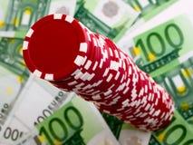 Обломоки казино стоковые изображения rf