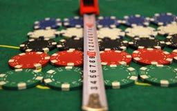 обломоки казино стоковое изображение