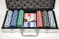 обломоки коробки играя в азартные игры Стоковое фото RF