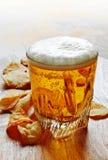 обломоки пива Стоковые Фото
