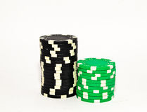 Обломоки покера Стоковая Фотография