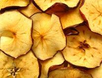 обломоки яблока Стоковые Фото