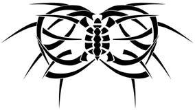 Обман зрения татуировки Стоковое Фото