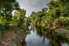 Обматывать riverway данника реки Гордона стоковая фотография rf