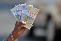 Обменные сервисы денег Стоковая Фотография