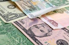 Обменный курс рубля Стоковые Изображения