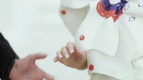 обмен звенит венчание сток-видео