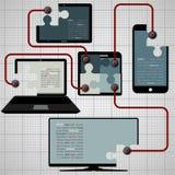 Обмен, предложение, обсеменность информации, сообщения и бесплатная иллюстрация