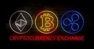 Обмен Cryptocurrency бесплатная иллюстрация