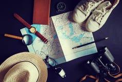 Обмундирование путешественника Стоковые Изображения RF