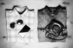 Обмундирование современных творческих людей Стоковая Фотография RF