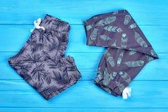 Обмундирование хлопка малышей новое ультрамодное Стоковые Изображения RF