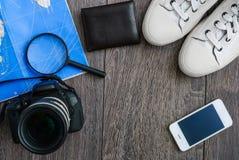 Обмундирование путешественника Стоковая Фотография