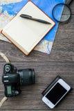 Обмундирование путешественника Стоковая Фотография RF