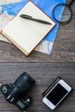 Обмундирование путешественника Стоковое Фото