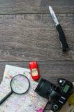 Обмундирование путешественника Стоковые Фото