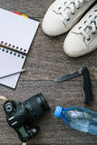 Обмундирование путешественника Стоковые Фотографии RF