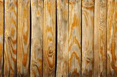 Обнажанная деревянная предпосылка стены Стоковая Фотография RF