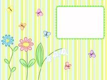 обнажанные цветки бабочек Стоковое фото RF