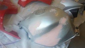 Обнажанные части мотоцикла Стоковые Фотографии RF