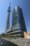634 обнаружили местонахождение палату tv вала башни токио sumida неба метров стоковые фото