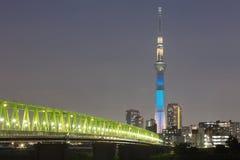 634 обнаружили местонахождение палату tv вала башни токио sumida неба метров Стоковая Фотография RF
