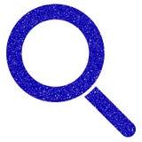 Обнаружьте местонахождение водяной знак Grunge значка иллюстрация вектора