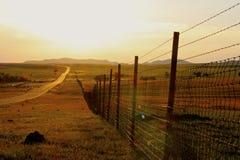Обнесенный забором стоковое фото rf