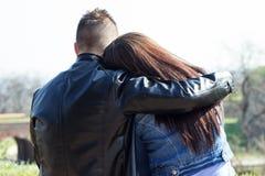 Обнимать влюбленность Стоковая Фотография RF