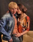 обнимать пар Стоковая Фотография RF