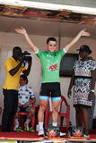 Обнимите мир задействуя на путешествии du Сенегале 2017 Стоковая Фотография RF