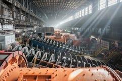 Обогащение руды и предприятие обрабатывать Стоковое Изображение