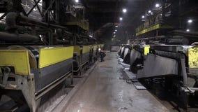 Обогащение руды и предприятие обрабатывать видеоматериал