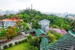 Обозите парк Yuexiu стоковое фото