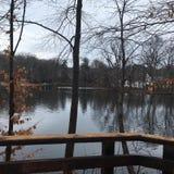 Обозите реку парка штата стоковые изображения