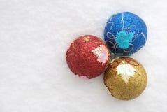 обозначает вал звездочкой сферы украшения голубого рождества темный Стоковые Фото