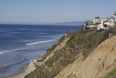 обозревать океана дома пляжа Стоковое Изображение RF